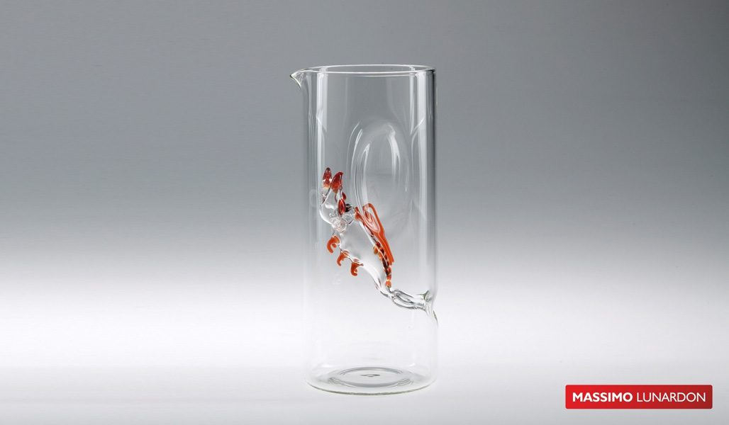 Massimo Lunardon Water Pitcher - Lobster