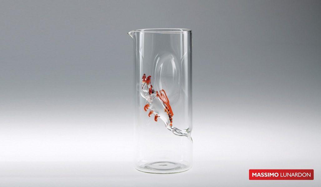 Massimo Lunardon Water Pitcher - Lobster