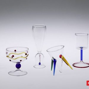 Massimo Lunardon Jazzini Liqueur Glasses