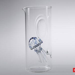 Massimo Lunardon Water Pitcher - Jellyfish (Blue)