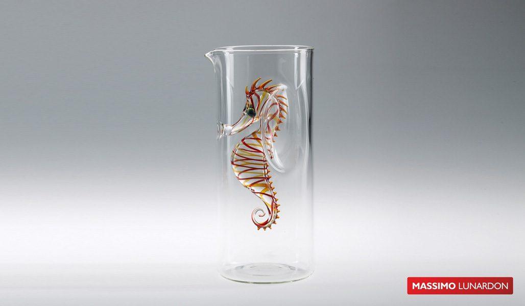Massimo Lunardon Water Pitcher - Seahorse