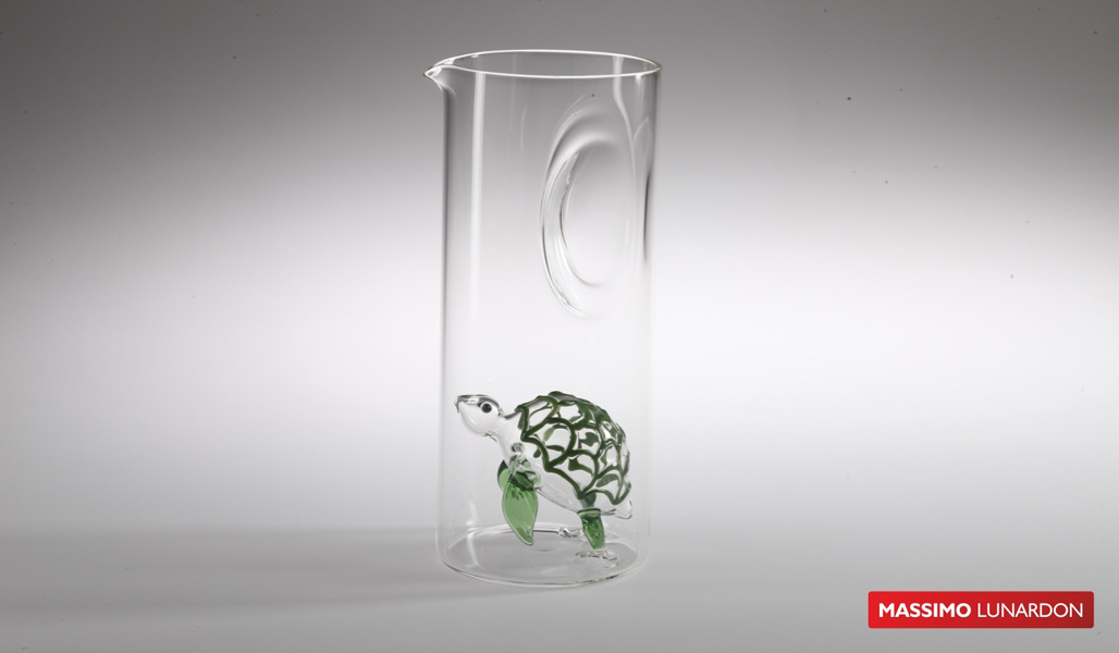 Massimo Lunardon Water Pitcher - Turtle