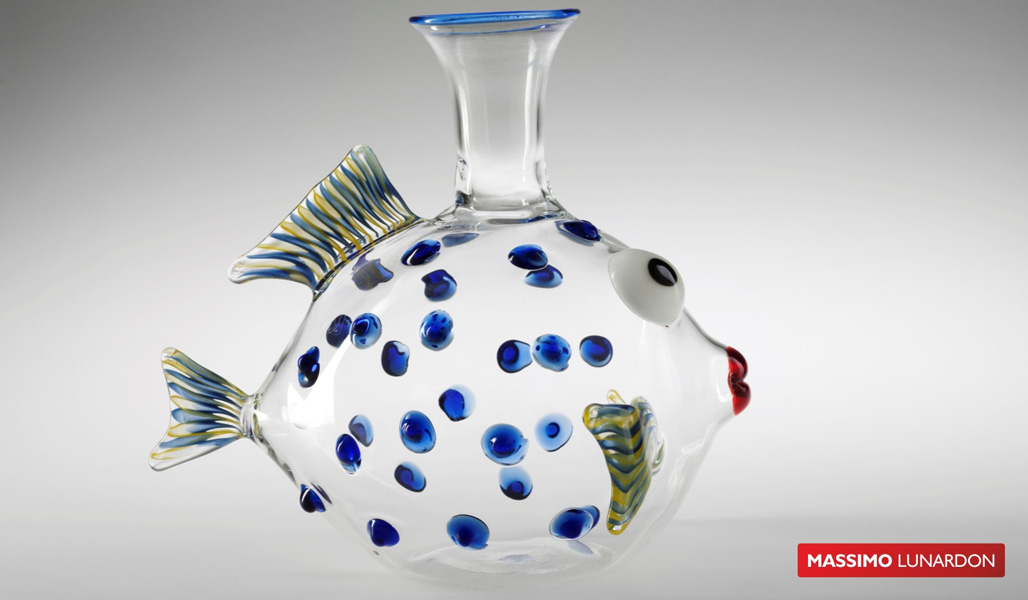 Massimo Lunardon Wine Decanter - Parrot Fish