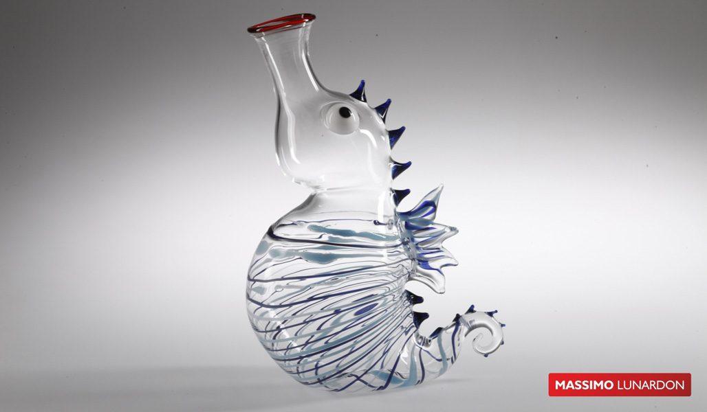 Massimo Lunardon Wine Decanter - Seahorse