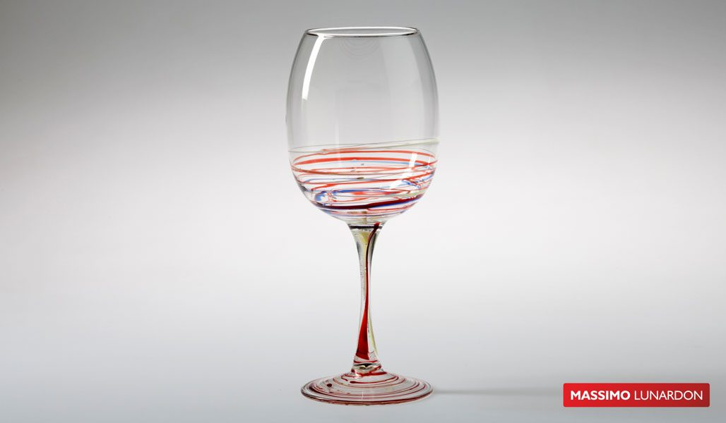 Massimo Lunardon Ribolla Wine Glass