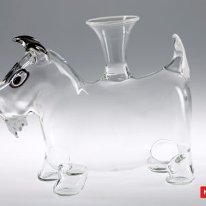 Massimo Lunardon Wine Decanter - Dog