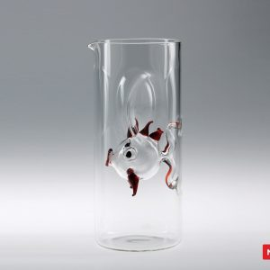 Massimo Lunardon Water Pitcher - Red Fish