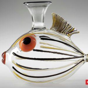 Massimo Lunardon Wine Decanter - Striped Fish