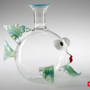 Massimo Lunardon Wine Decanter - Carp Fish