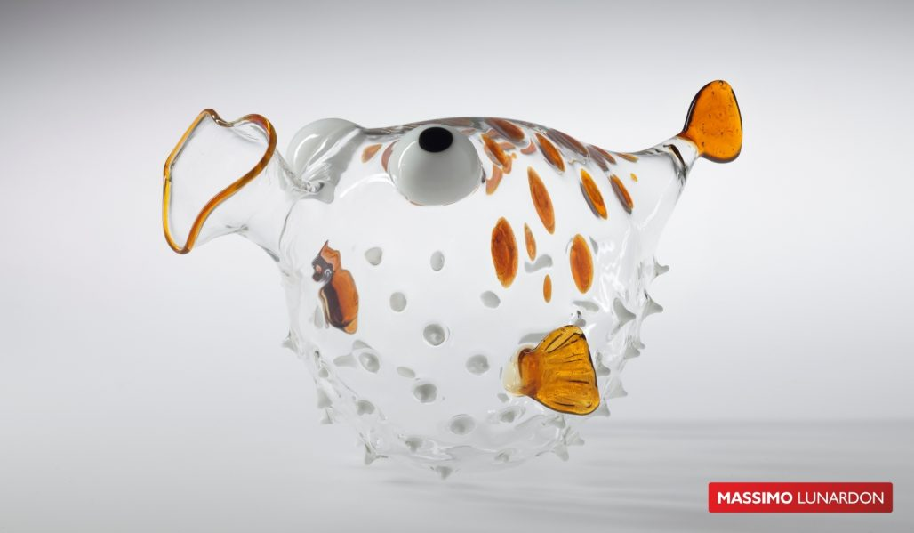 Massimo Lunardon Wine Decanter - Blowfish