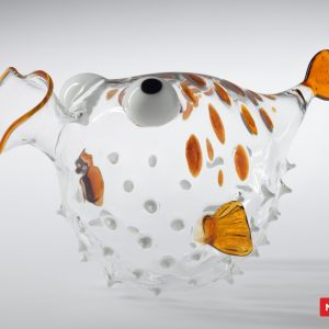 Massimo Lunardon Wine Decanter - Blowfish