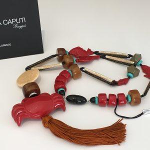 Angela Caputi - Italian Jewelry - Long Tassel Necklace