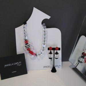Angela Caputi - Italian Jewelry - Clear element set