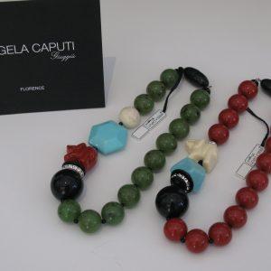 Angela Caputi - Italian Jewelry - Princess Elephant Necklace