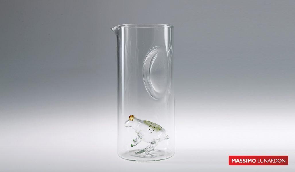Massimo Lunardon Water Pitcher - Frog
