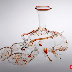 Massimo Lunardon Wine Decanter - Lobster