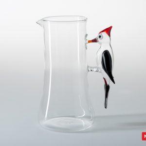 Massimo Lunardon Water Pitcher - Woodpecker