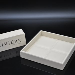 Riviere Luxury - Square Leather Coin Tray