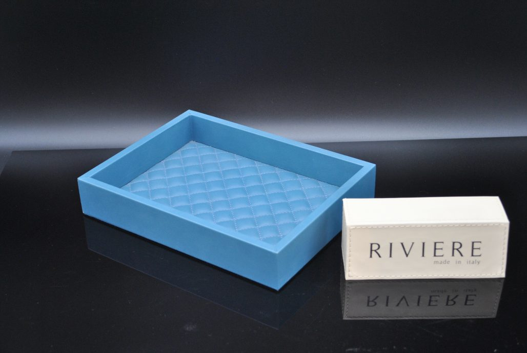 Riviere Luxury Coin Tray - Leather
