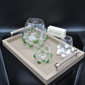 Riviere Luxury Tray - Full Leather