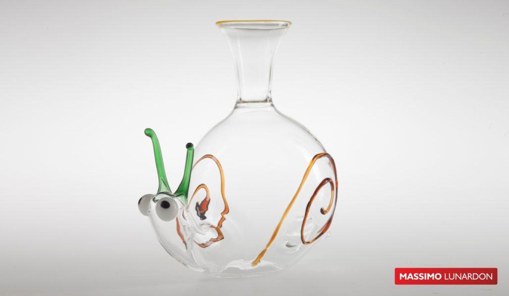 Massimo Lunardon Wine Decanter - Snail