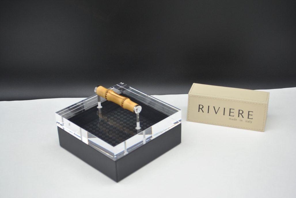 Riviere Luxury Box - Black Leather