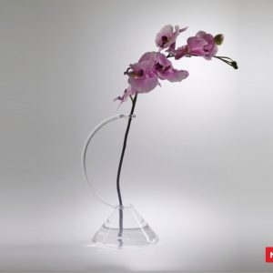 Massimo Lunardon Glass Vase - Orchid