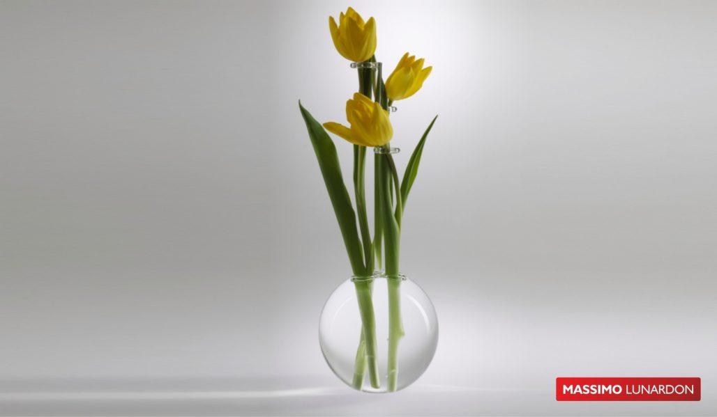 Massimo Lunardon Glass Vase - Tulip