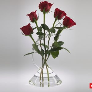 Massimo Lunardon Glass Vase - Rose