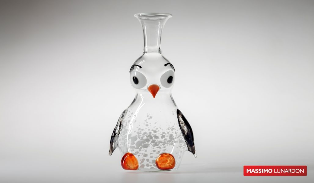 Massimo Lunardon WIne Decanter - Penguin