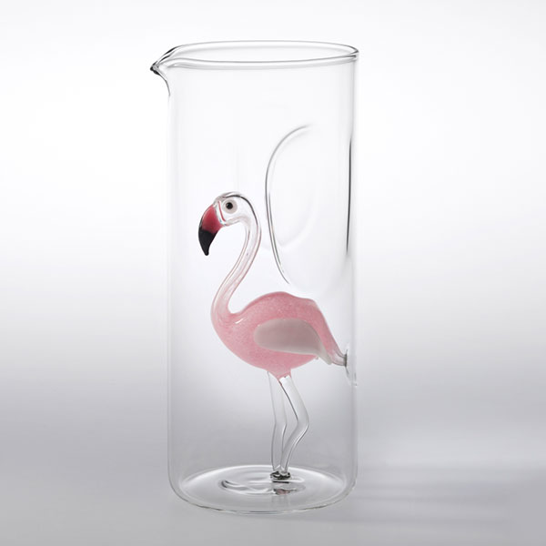 Massimo Lunardon Flamingo Water Pitcher