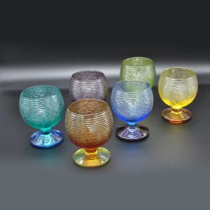 IVV – Multicolor Footed Goblets (Set of 6)
