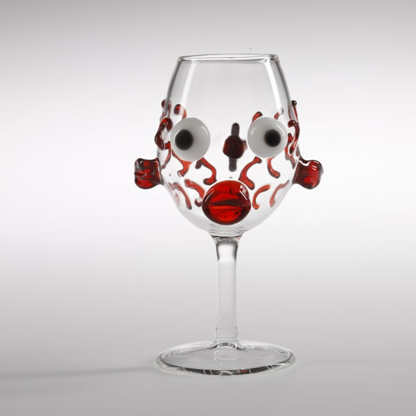 Massimo Lunardon - Fish Mini Goblet Red Fish